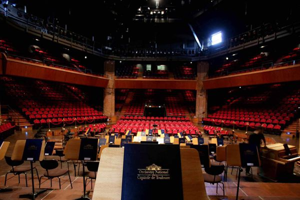Salle de La Halle aux Grains à Toulouse où se produit notamment l'Orchestre National du Capitole