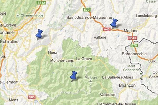 3 coulées en une journée ce 15 mars en Isère et en Savoie
