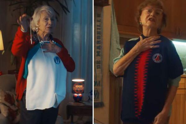 Images extraites du clip de Canal + pour promouvoir le Clasico PSG-OM.