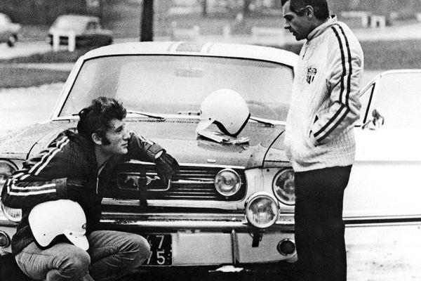 Johnny Hallyday à Monte-Carlo en 1967.