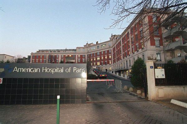 L'hôpital américain de Neuilly-sur-Seine est connu pour y accueillir des personnalités publiques.