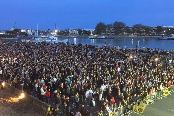 3000 personnes dans la fan zone à La Rochelle