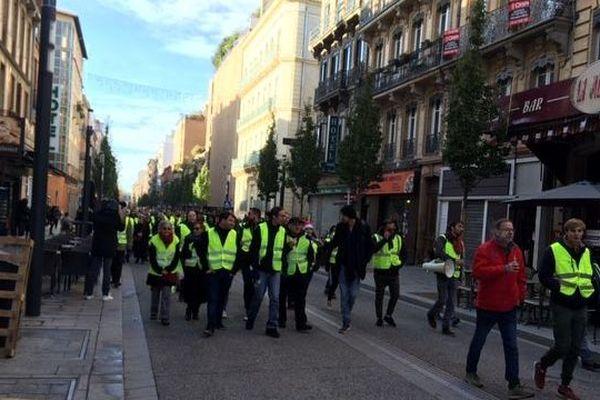 Dans les rues de Toulouse, ce samedi matin
