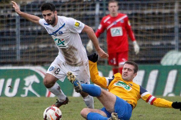 Au tour précédent, Les Chamois Niortais avaient éliminé les joueurs d'Epinal dans les Vosges.