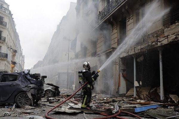 Quatre personnes sont décédées et 66 blessées lors de l'explosion rue de Trévise (Paris IXe) le 12 janvier 2019.