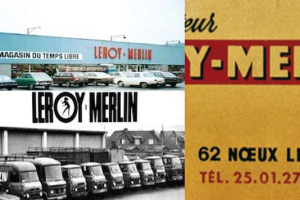 Images d'archives du 1er magasin Leroy-Merlin