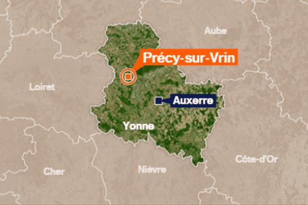 Les faits ont lieu à Précy-sur-Vrin, dans l'Yonne