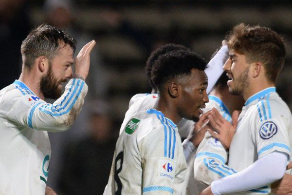 L'OM s'est imposé face à Trélissac et sera l'adversaire de l'US Granville à d'Ornano début mars en 1/4 de finale de la Coupe de France.