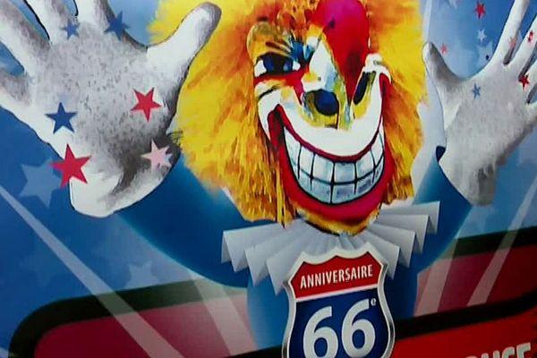 Détail de l'affiche de la 66e édition du carnaval de Mulhouse