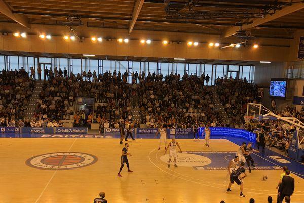 Le Poitiers Basket 86 s'incline à domicile face à Roanne : 71/74