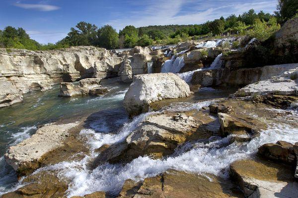 Les Cascades du Sautadet, dans le Gard - juin 2020