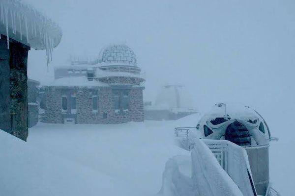 Le Pic du Midi ce 22 novembre