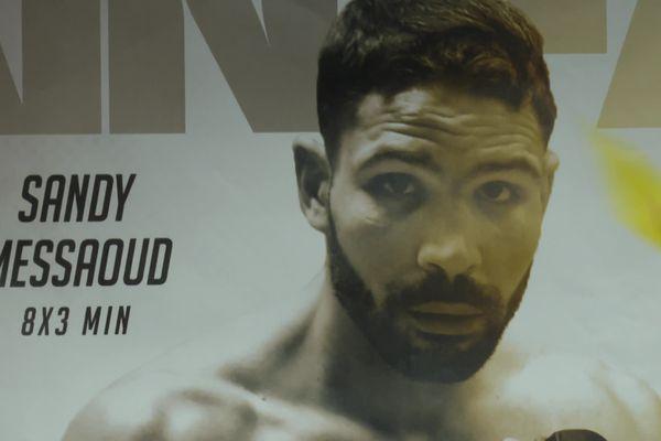 Sandy Messaoud conserve son titre de champion intercontinental WBA