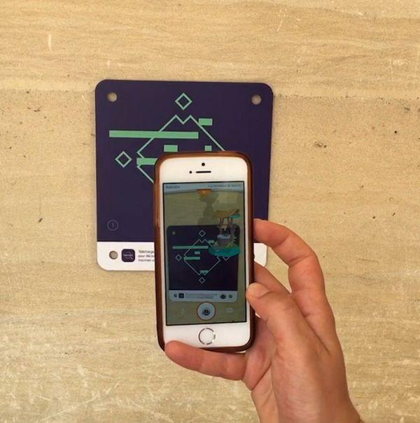 Visuel 3D révélé par l'application Hackéo.