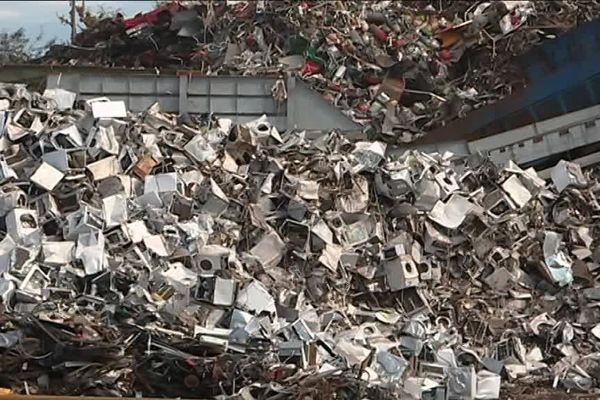 Un mètre cube de déchets métalliques faiblement radioactifs ont été repérés dans cette entreprise de broyage de métaux.