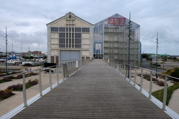 Le bâtiment du Frac Grand Large à Dunkerque