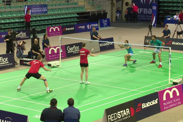 Les championnats de France de badminton 2020 organisés à Mulhouse