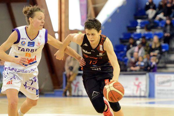 la rage de Miljana Bojovic, en noir, n'a pas suffit à l'emporter, mais Bourges est tout de même qualifié pour les quarts