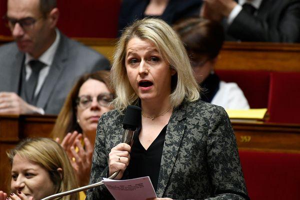 Barbara Pompili lors de la séance de questions au gouvernement à l'Assemblée nationale le 18 décembre 2018