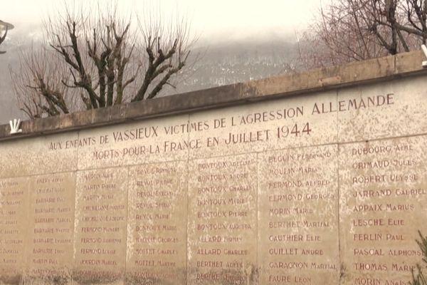 Vassieux-en-Vercors, village martyr de la deuxième guerre mondiale