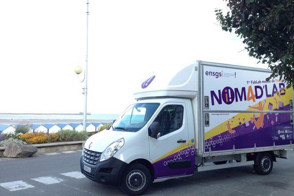 Nomad'Lab, le premier Fab Lab mobile de France