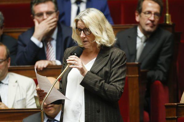Annie Chevalier, députée ex-LREM du Gard, a cosigné cette tribune demandant à la France une position plus ferme dans le conflit