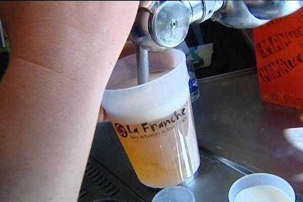 La 1ère bière produite en Franche-Comté avec de l'orge local et bio