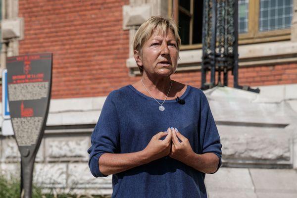 Natacha Bouchart, maire de Calais, demande le retour des magasins détaxés dans sa ville.