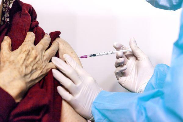 Rennes, centre de vaccination Liberté, janvier 2021