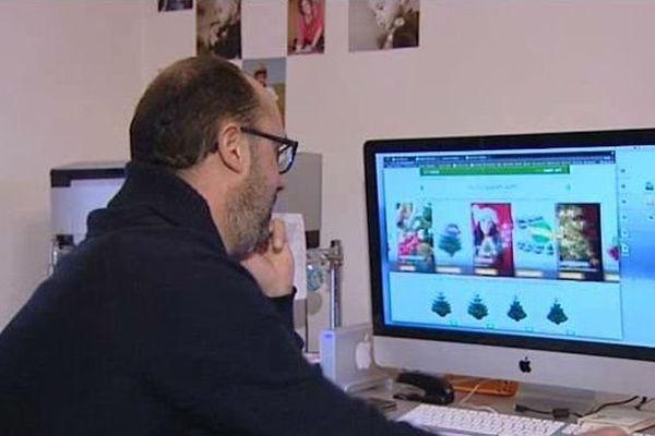 """Un client qui cherche un sapin """"made in Morvan"""" sur internet - novrembre 2016"""