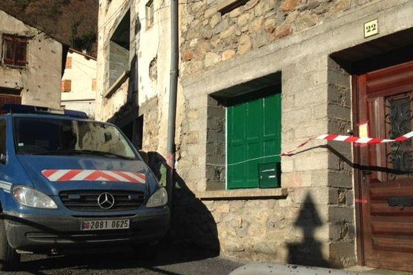 C'est au n°22 dans cette maison du petit village de Fontpédrouse que le corps a été retrouvé.