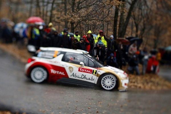 Sébastien Loeb, toujours maître des routes.