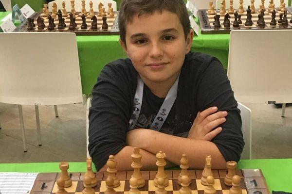 Marc'Andria Maurizzi, l'air de rien, est en train de s'imposer comme l'un des meilleurs joueurs français. A douze ans.