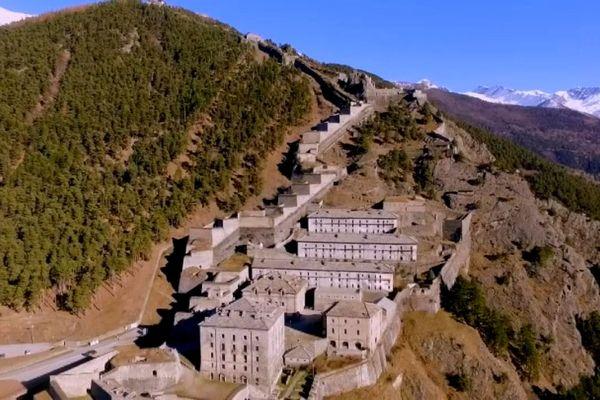 La forteresse de Fenestrelle dans le Piémont italien