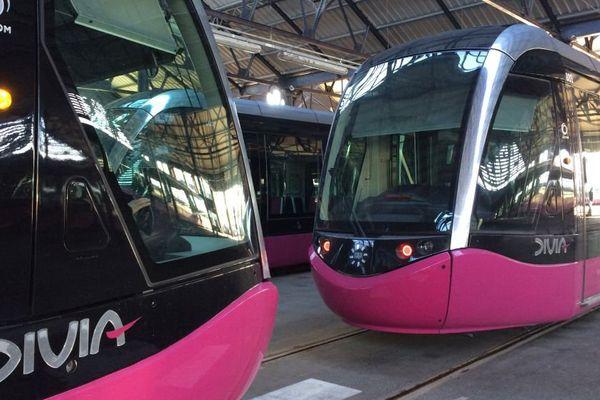 Le centre d'exploitation et de maintenance du tramway à Dijon