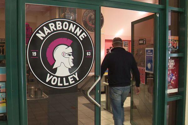 Le club professionnel Narbonne Volley à l'arrêt total au moins jusqu'à la semaine prochaine.