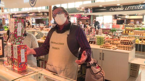 """""""Il sont les bienvenus les Parisiens !"""" Didier Perrin, commerçant à La Baule."""