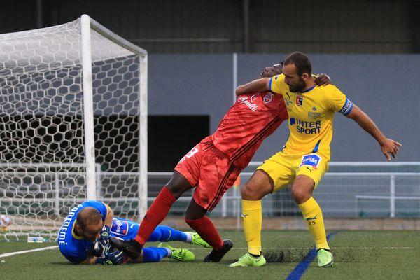 Le FC Bastia-Borgo, dans l'impossibilité de décrocher sa première victoire face à l'US Boulogne