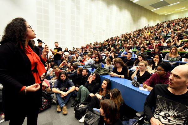 Assemblée générale à l'Université Jean Jaurès