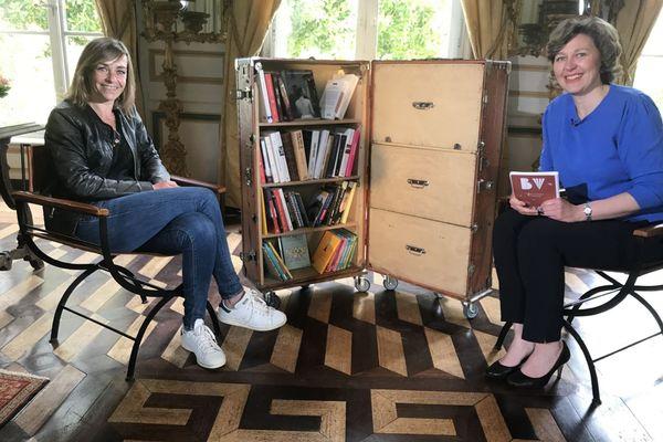 La romancière malouine Agnès Martin-Lugand invitée de la Bibliothèque Vagabonde au Domaine de Montmarin