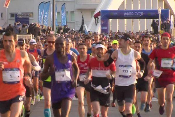 La première édition du marathon du Golfe de Saint-Tropez s'est tenue ce dimanche !