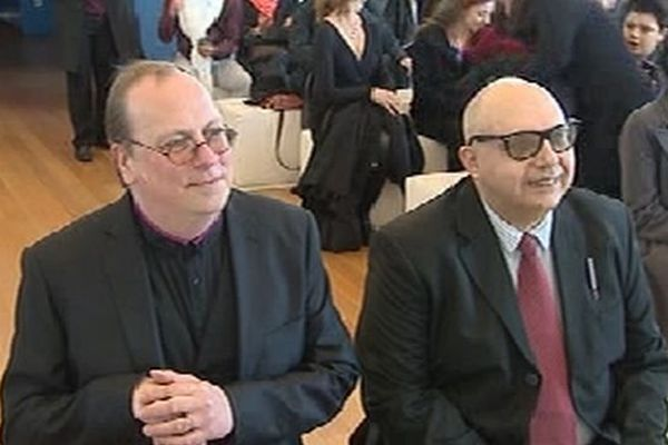 Déjà mariés symboliquement depuis 2 ans, Tito Livio et Florent ont officialisé leur union