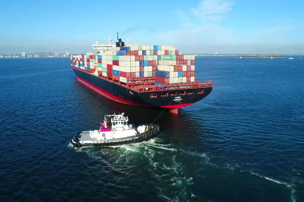 En moyenne aujourd'hui le transport d'un conteneur coûterait quatre fois plus cher qu'il y a un an.