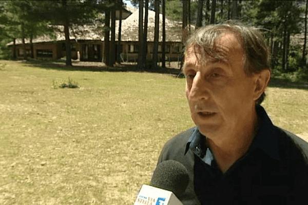 """Le maire d'Evisa Jean-Jacques Gianni (village de vacances """"Paisolu d'Aïtone"""")"""