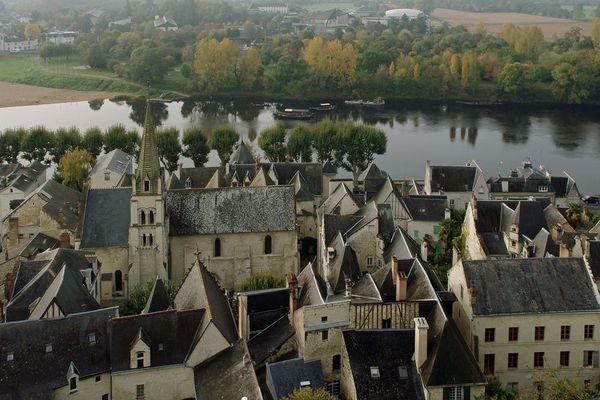 Chinon en Indre-et-Loire