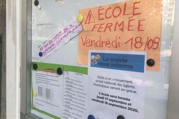 Marseille : écoles fermées pour cause de grève, de Covid et par manque de personnel pour désinfecter !