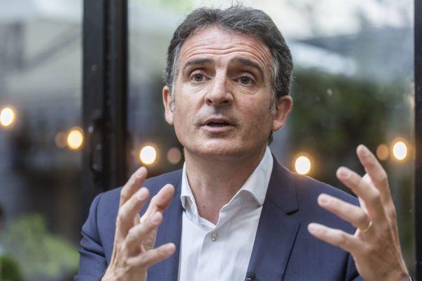Eric Piolle lors d'une conférence de presse à Paris, le 30 juin 2021. Photo d'illustration.