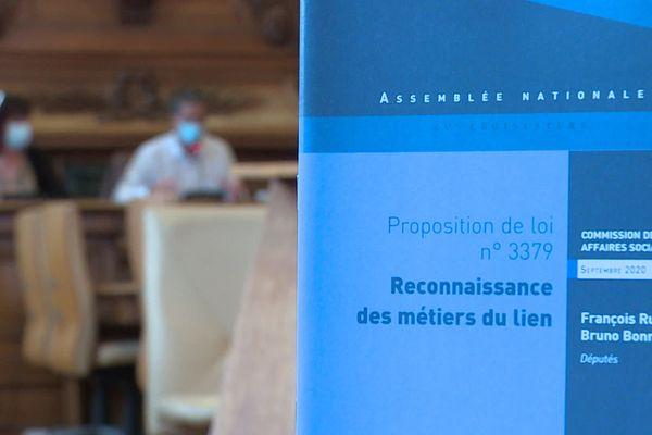 Le dossier de propositions présentées par François Ruffin, lundi 5 octobre au conseil départemental.