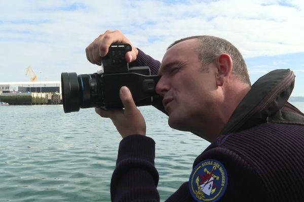 Ewan Lebourdais, peintre officiel de la marine