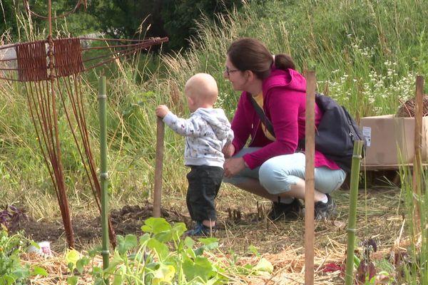 Aux Vaîtes, on cultive son jardin dès le plus jeune âge